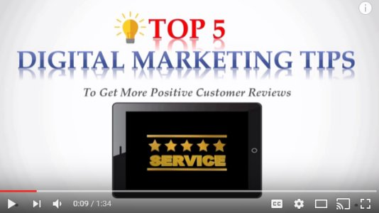 Top 5 Tips to Get Stellar Online Customer Reviews